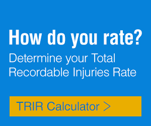 How do you rate? Determine your Total Recordable Injuries Rate with our TRIR Calculator